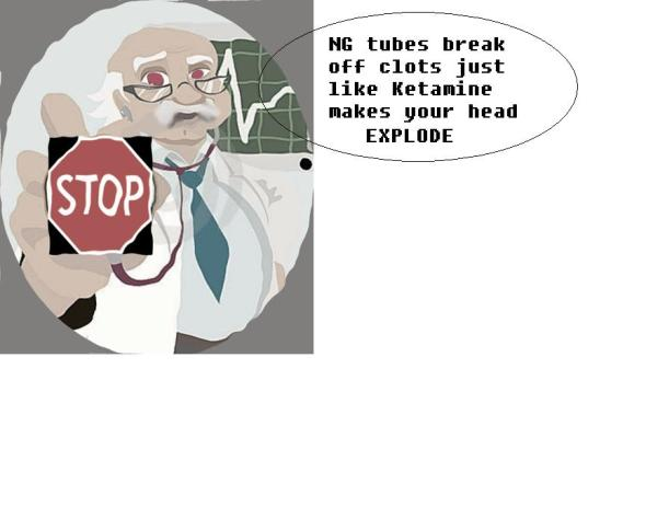 NG tubes bad